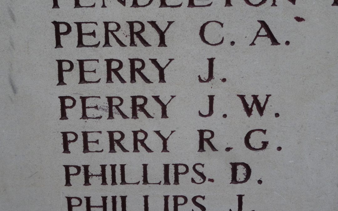 Remembrance – John William (Jack) Perry